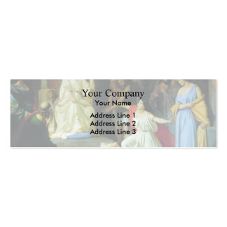 The Judgment of King Solomon by Nikolai Ge Business Card
