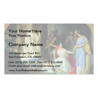 The Judgment of King Solomon by Nikolai Ge Business Cards