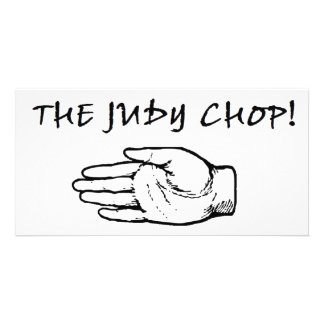The Judy Chop! Card