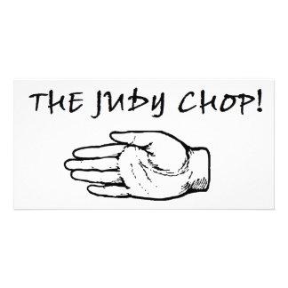 The Judy Chop! Photo Card