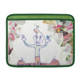 The Juggler macbook & ipad laptop sleeves