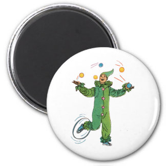 The  Juggling Clown Magnet