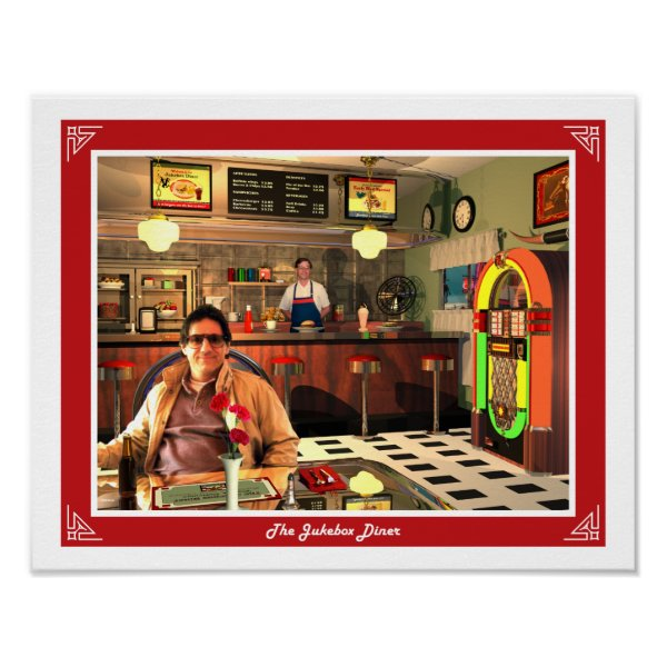 The Jukebox Diner Poster