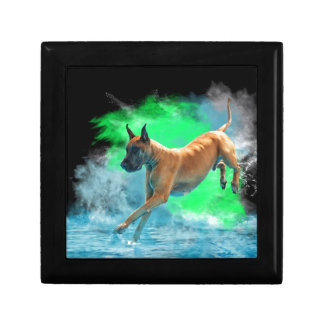 The jumping Great Dane Gift Box