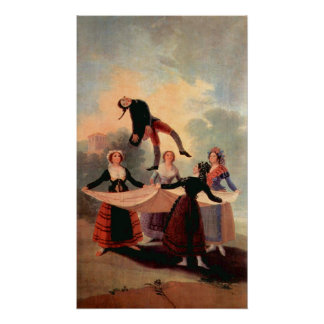 The Jumping Jack by Francisco de Goya Poster
