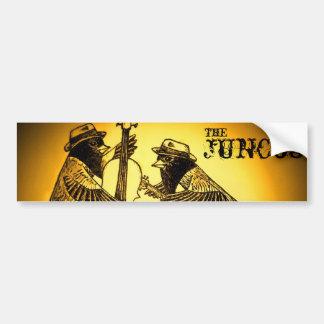 the juncos-1 sepia, the , juncos bumper sticker