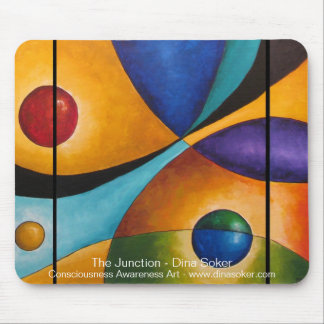 The Junction mouse - pad Mouse Pad
