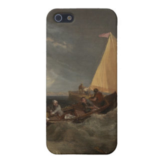 The Junction of the Thames and the Medway, 1807 iPhone 5 Cases