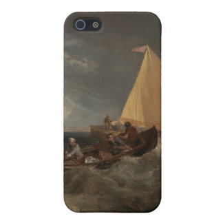The Junction of the Thames and the Medway, 1807 iPhone 5/5S Cases