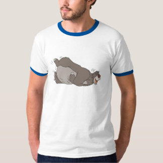 The Jungle Book Baloo laughing on the ground Tee Shirt
