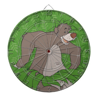The Jungle Book Baloo with Grass Skirt Dartboard With Darts