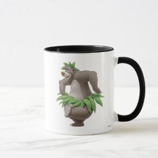 The Jungle Book Baloo with Grass Skirt Disney Mug
