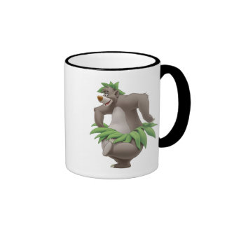 The Jungle Book Baloo with Grass Skirt Disney Ringer Coffee Mug