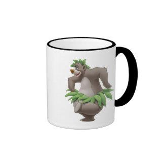 The Jungle Book Baloo with Grass Skirt Disney Ringer Mug