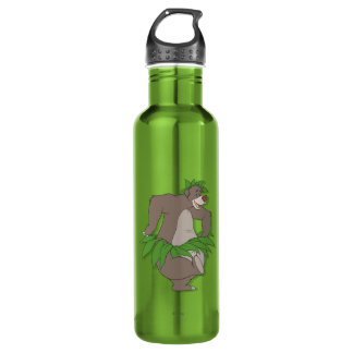 The Jungle Book Baloo with Grass Skirt Water Bottle