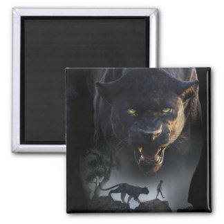 The Jungle Book | Push the Boundaries 2 Inch Square Magnet
