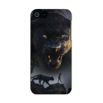 The Jungle Book   Push the Boundaries Metallic Phone Case For iPhone SE/5/5S