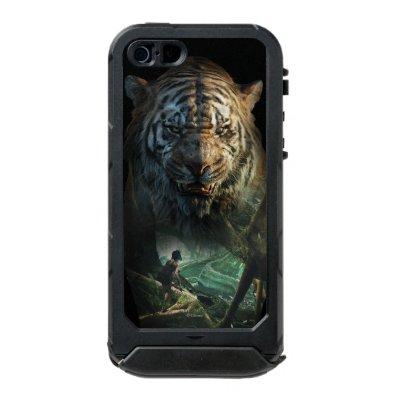 The Jungle Book   Shere Khan & Mowgli Waterproof iPhone SE/5/5S Case