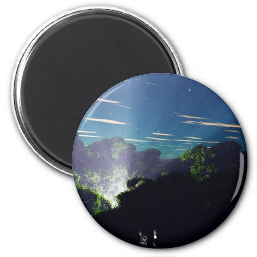 )The Jungle Happening 2 Inch Round Magnet