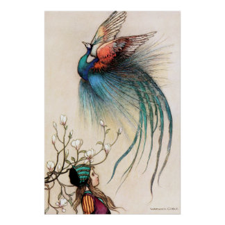 The Juniper Tree by Warwick Goble Poster