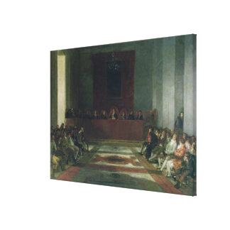 The Junta of the Philippines, 1815 Canvas Print
