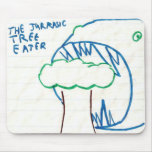 The Jurassic Tree Eater Mouse Pad