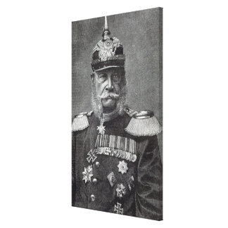 The Kaiser Wilhelm, from 'Leisure Hour', 1888 Canvas Print