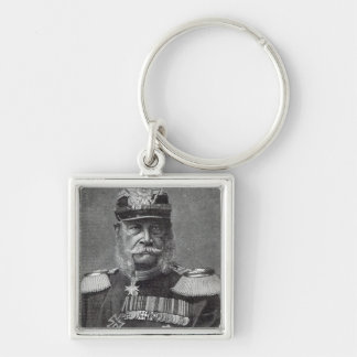 The Kaiser Wilhelm, from 'Leisure Hour', 1888 Keychain