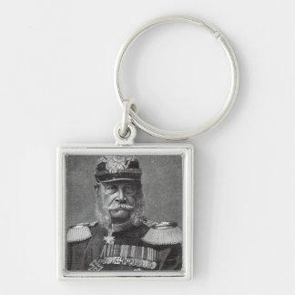 The Kaiser Wilhelm, from 'Leisure Hour', 1888 Keychain