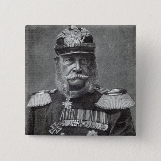The Kaiser Wilhelm, from 'Leisure Hour', 1888 Pinback Button