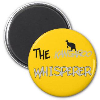 The Kangaroo Whisperer T-Shirts and Gifts Fridge Magnet