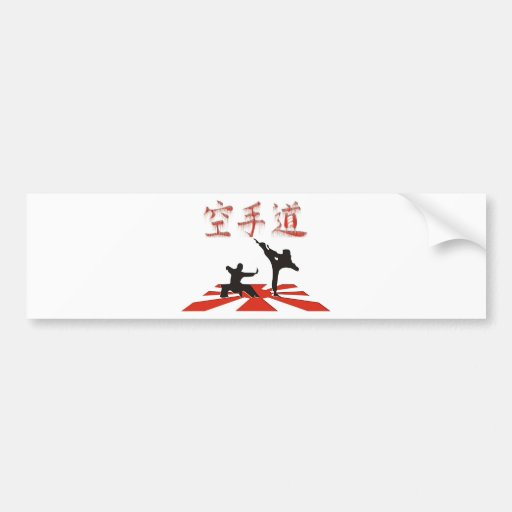 The Karate Perspective Bumper Sticker