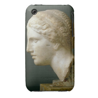 The Kauffmann Head, Roman (marble) iPhone 3 Case-Mate Cases