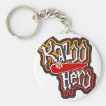 The Kazoo Hero Keychain