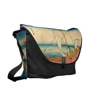 The Kazusa Province sea route Courier Bags