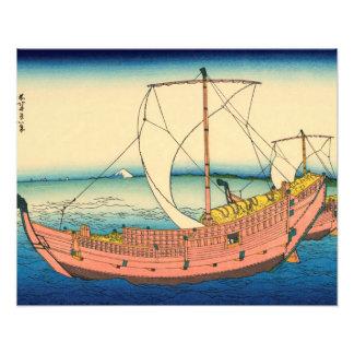 The Kazusa Province sea route Photo Print