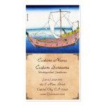 The Kazusa sea route katsushika Hokusai Fuji Double-Sided Standard Business Cards (Pack Of 100)