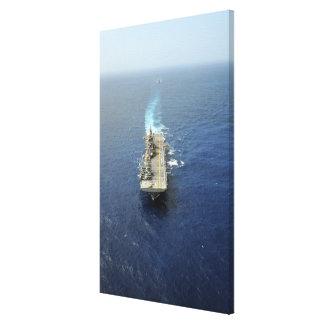 The Kearsarge Amphibious Ready Group Canvas Print