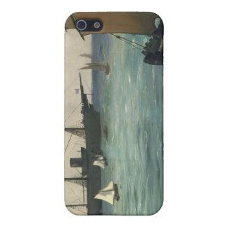 "The ""Kearsarge"" at Boulogne - Édouard Manet Case For iPhone SE/5/5s"
