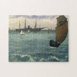 """The """"Kearsarge"""" at Boulogne - Édouard Manet Puzzles"""
