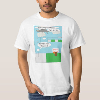 The 'Keep Off The Grass Myth is Solved' T-Shirt