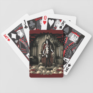 The Keep Vampire Playing Cards