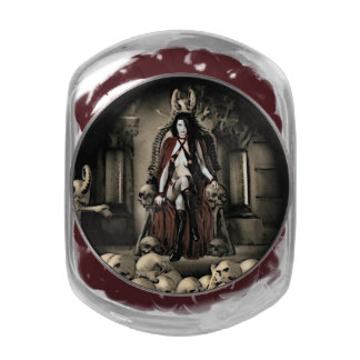 The Keep Vampire Round Candy Tin or Jar