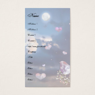 The Keeper of Peace Template Business Card