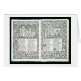 The 'Kelmscott Chaucer', published 1896 by the Kel Greeting Card