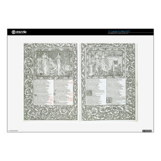 The 'Kelmscott Chaucer', published 1896 by the Kel Decals For Laptops