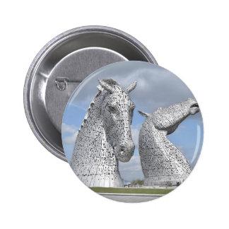 the Kelpies ,  Helix Park , Falkirk , Scotland Pin
