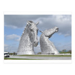 the Kelpies ,  Helix Park , Falkirk , Scotland Postcard