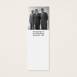 The Kennedy's at the White House,August 28, 1963 Mini Business Card