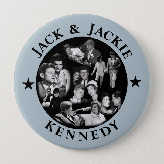 The Kennedys: Jack & Jackie Button